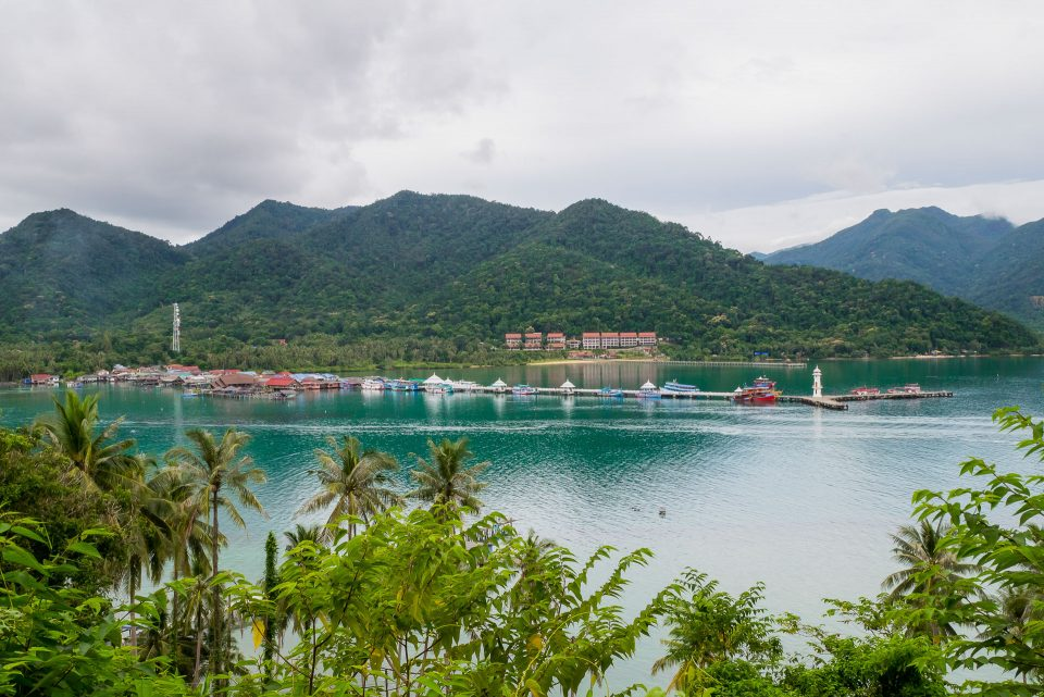 Пирс Банг Бао на острове Чанг