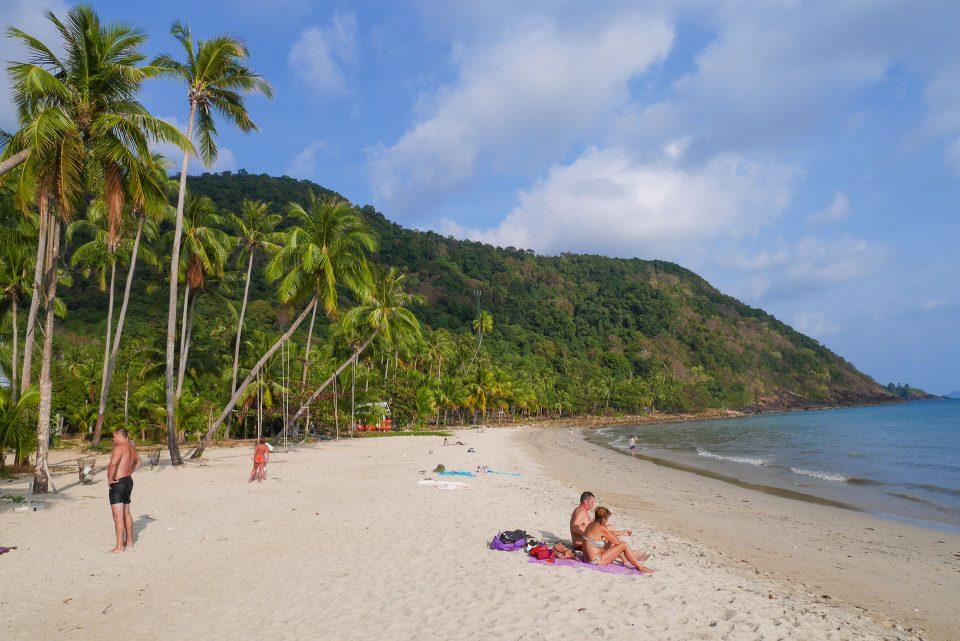 пляж отеля Boat Chalet