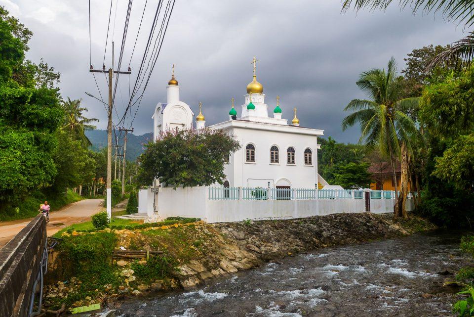 Православный храм на Ко-Чанге