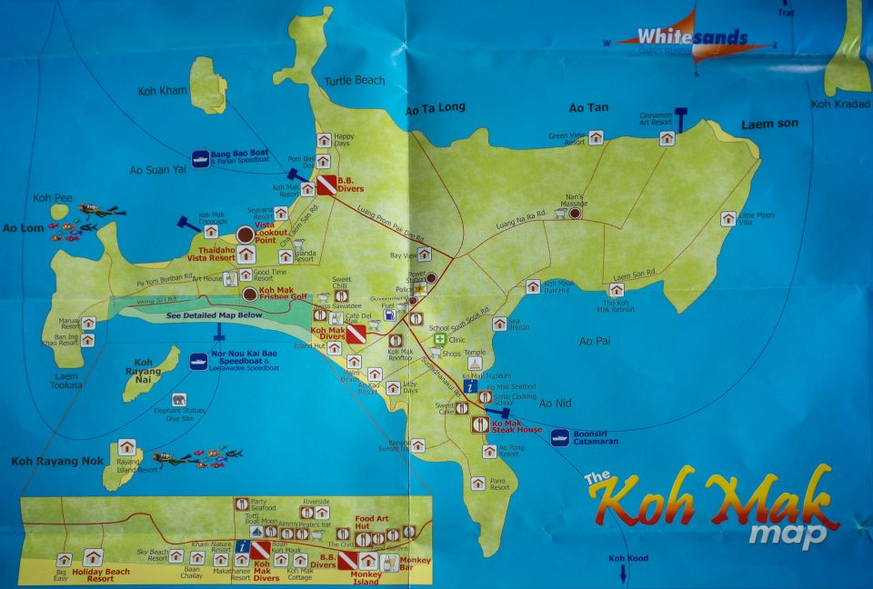 Карта Ко-Мак
