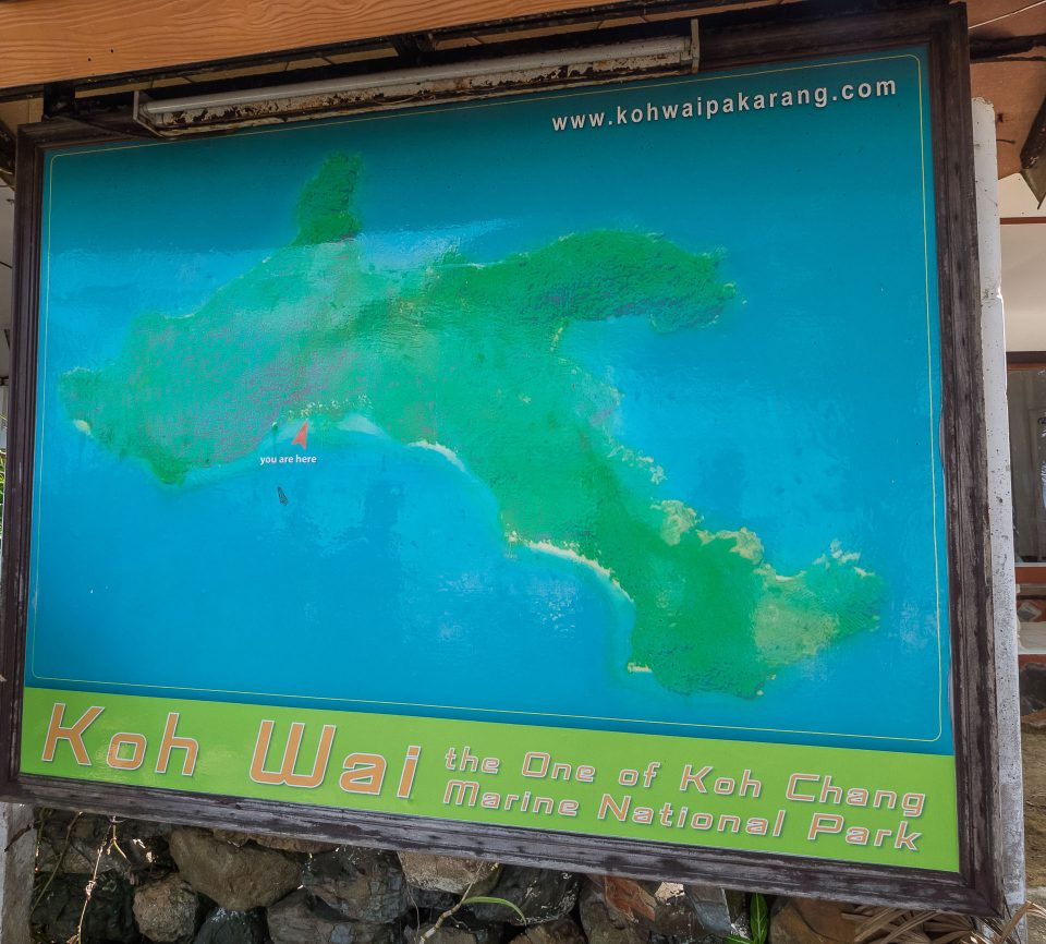 Карта острова Ваи