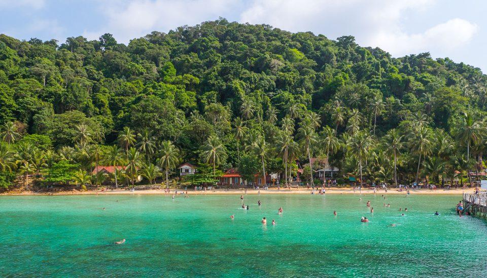 Вид на пляж Ко-Ваи