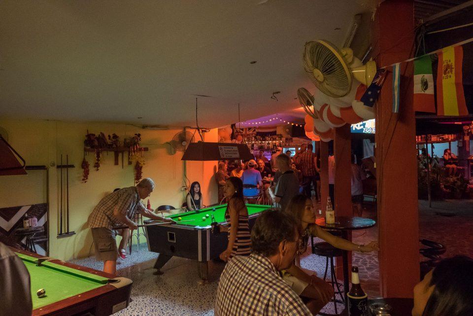 Квартал красных фонарей на Ко-Чанге