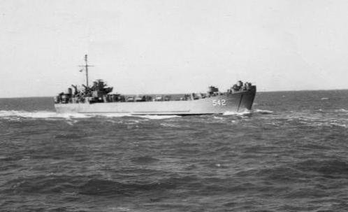 Корабль LST-542