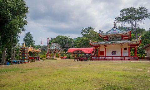 Китайский храм  Чао По (Chao Por Koh Chang Shrine)